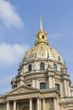 Les Invalides, Παρίσι Στοκ Εικόνα
