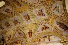 Το Loggia της βασιλικής του ST John Lateran στη Ρώμη Ιταλία Στοκ φωτογραφίες με δικαίωμα ελεύθερης χρήσης