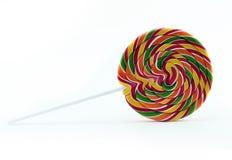 Το Lollipop απομόνωσε το λευκό Στοκ Εικόνες