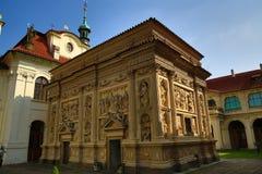 Το Loreta είναι ένας μεγάλος προορισμός προσκυνήματος σε HradÄ  οποιοιδήποτε, μια περιοχή της Πράγας, Δημοκρατία της Τσεχίας στοκ φωτογραφία με δικαίωμα ελεύθερης χρήσης