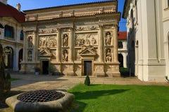 Το Loreta είναι ένας μεγάλος προορισμός προσκυνήματος σε HradÄ  οποιοιδήποτε, μια περιοχή της Πράγας, Δημοκρατία της Τσεχίας στοκ εικόνα