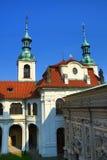 Το Loreta είναι ένας μεγάλος προορισμός προσκυνήματος σε HradÄ  οποιοιδήποτε, μια περιοχή της Πράγας, Δημοκρατία της Τσεχίας στοκ φωτογραφίες με δικαίωμα ελεύθερης χρήσης