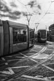 Το Luas (Δουβλίνο) Στοκ Φωτογραφίες