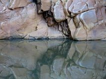 Το MacDonnell κυμαίνεται το εθνικό πάρκο, Βόρεια Περιοχή, Αυστραλία Στοκ Εικόνα