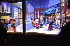 Το Macy θεωρεί τα Χριστούγεννα 2015 Στοκ Εικόνες