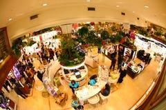 το macy nyc s λουλουδιών εμφανί&ze Στοκ φωτογραφίες με δικαίωμα ελεύθερης χρήσης