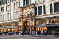 Το Macy ` s ανακοινώνει τετραγωνικό NYC Στοκ εικόνα με δικαίωμα ελεύθερης χρήσης