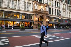 Το Macy ` s ανακοινώνει τετραγωνικό NYC Στοκ φωτογραφία με δικαίωμα ελεύθερης χρήσης