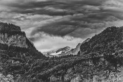 Το Meiringen στην Ελβετία είναι ένας μούστος πηγαίνει περιοχή Στοκ φωτογραφία με δικαίωμα ελεύθερης χρήσης