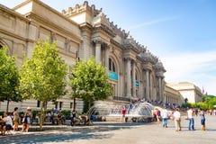 Το Metropolitan Museum of Art στη Νέα Υόρκη Στοκ φωτογραφία με δικαίωμα ελεύθερης χρήσης