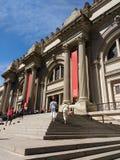 Το Metropolitan Museum of Art, συνερχόμενη, πόλη της Νέας Υόρκης, ΗΠΑ Στοκ Εικόνες
