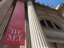 Το Metropolitan Museum of Art, συνερχόμενη, πόλη της Νέας Υόρκης, ΗΠΑ Στοκ Φωτογραφίες
