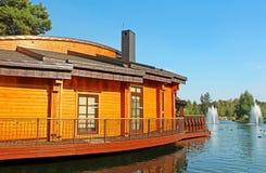 Το Mezhyhirya είναι η κατοικία του πρώην προέδρου της Ουκρανίας Βίκτωρ Γιανουκόβιτς στη Novi Petrivtsi Στοκ Εικόνα