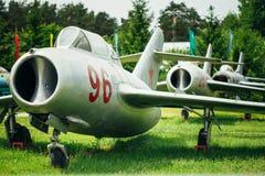 Το mikoyan-Gurevich miG-15 είναι ο Ρώσος σοβιετικός Στοκ Φωτογραφία