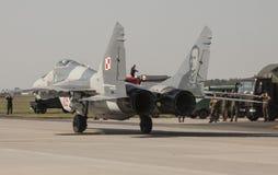 Το Mikoyan miG-29 υπομόχλιο στοκ φωτογραφίες με δικαίωμα ελεύθερης χρήσης
