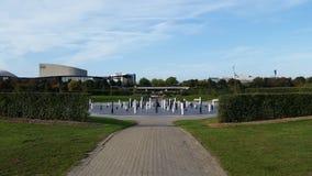 Το MK αυξήθηκε κοιτάζοντας σύμφωνα με τη γραμμή θερινού ηλιοστάσιου Στοκ Εικόνες
