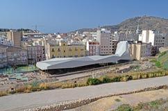 Το Molinete Archealogical σκάβει, Καρχηδόνα, Ισπανία, Tom Wurl Στοκ φωτογραφία με δικαίωμα ελεύθερης χρήσης