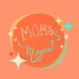 Το Moms είναι μαγικό Στοκ Φωτογραφίες