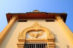 Το mondop του Λόρδου Βούδας στην επαρχία Ayutthaya Στοκ φωτογραφία με δικαίωμα ελεύθερης χρήσης