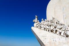 Το Monunent στις ανακαλύψεις στη Λισσαβώνα, Πορτογαλία στοκ φωτογραφία