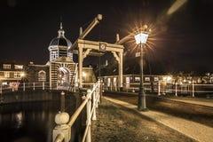 Το Morspoort είναι η δυτική πύλη πόλεων του Λάιντεν Στοκ φωτογραφία με δικαίωμα ελεύθερης χρήσης