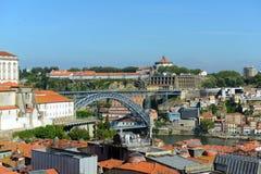 Το Mosteiro DA Serra κάνει το Πιλάρ, Πόρτο, Πορτογαλία Στοκ Εικόνα