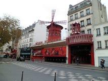 Το Moulin ρουζ, Παρίσι Στοκ εικόνα με δικαίωμα ελεύθερης χρήσης