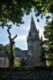 Το MUR de Βρετάνη είναι ένα μικρό χωριό στο βόρειο τμήμα της Γαλλίας Στοκ Εικόνες