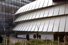 Το Musée du quai Branly στο Παρίσι Στοκ Φωτογραφίες