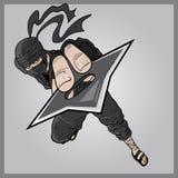 Το ninja Στοκ Εικόνα