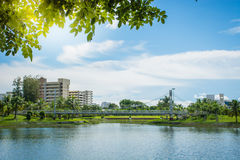 Το Nong Prajak είναι δημοφιλέστερη θέση σε Udon Thani, Ταϊλάνδη Στοκ Φωτογραφίες