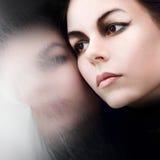 το(null) όμορφο κορίτσι το ίδι&omic Στοκ Φωτογραφία