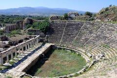 Το Odeon σε Aphrodisias Στοκ Εικόνες