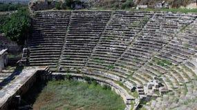 Το Odeon σε Aphrodisias 2 Στοκ Φωτογραφίες