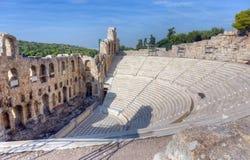 Το Odeon Herodes Atticus, Αθήνα, Ελλάδα Στοκ Φωτογραφίες