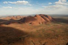 Το Olgas - το Kata Tjuta - Αυστραλία στοκ εικόνα
