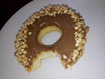 Το Omg αυτό είναι ένα donnut Στοκ φωτογραφίες με δικαίωμα ελεύθερης χρήσης