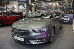 Το Opel στο αυτοκίνητο Βελιγραδι'ου παρουσιάζει Στοκ εικόνα με δικαίωμα ελεύθερης χρήσης