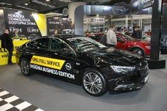 Το Opel στο αυτοκίνητο Βελιγραδι'ου παρουσιάζει Στοκ φωτογραφία με δικαίωμα ελεύθερης χρήσης