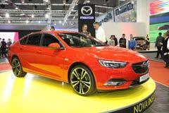 Το Opel στο αυτοκίνητο Βελιγραδι'ου παρουσιάζει Στοκ εικόνες με δικαίωμα ελεύθερης χρήσης