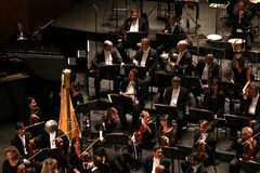 Το Orchestre εθνικό de Γαλλία, Παρίσι, μπορεί 10, το 2015 Στοκ φωτογραφίες με δικαίωμα ελεύθερης χρήσης