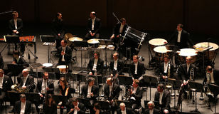 Το Orchestre εθνικό de Γαλλία, Παρίσι, μπορεί 10, το 2015 Στοκ Εικόνα