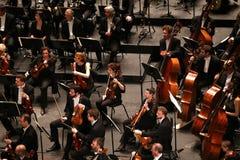 Το Orchestre εθνικό de Γαλλία, Παρίσι, μπορεί 10, το 2015 Στοκ φωτογραφία με δικαίωμα ελεύθερης χρήσης