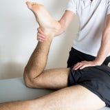 Το Orthodontists μεταχειρίζεται το πόδι Στοκ Φωτογραφία