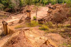 Το Pae Muang κατουρεί βασιλικό πάρκο, φυσική αρχιτεκτονική Α Στοκ Εικόνες