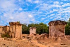 Το Pae Muang κατουρεί βασιλικό πάρκο, φυσική αρχιτεκτονική Α Στοκ φωτογραφία με δικαίωμα ελεύθερης χρήσης
