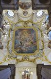 Το Palacio πραγματικό de Μαδρίτη (Royal Palace) Στοκ φωτογραφία με δικαίωμα ελεύθερης χρήσης