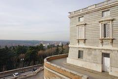 Το Palacio πραγματικό de Μαδρίτη (Royal Palace) Στοκ Εικόνα