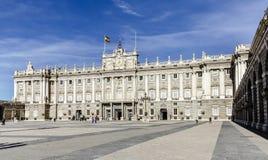 Το Palacio πραγματικό de Μαδρίτη Royal Palace Στοκ Εικόνα