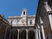 Το Palazzo Reale είναι ένα μέγαρο και ένα Εθνικό Μουσείο κραμπολάχανου μέσω Balbi στη Γένοβα Ιταλία Στοκ Εικόνες